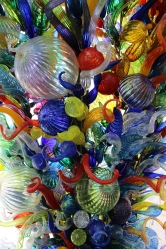 Chihuly sculpture at Joslyn Museum in Omaha