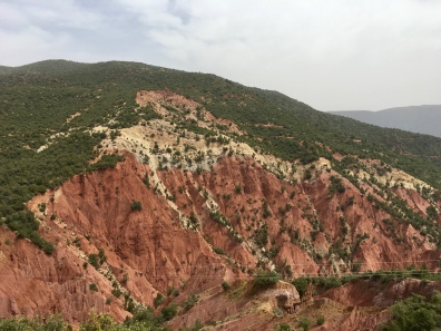 valley east of Marrakesh