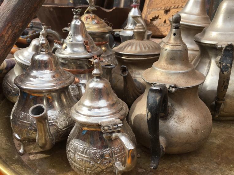 teapots at Aït Ben Haddou