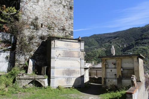 cemetery in the ruined castle