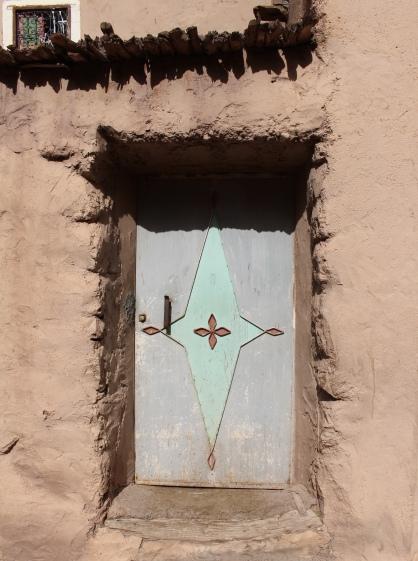 doors from Imlil to Aroumd