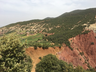 valley east of Marrakesh