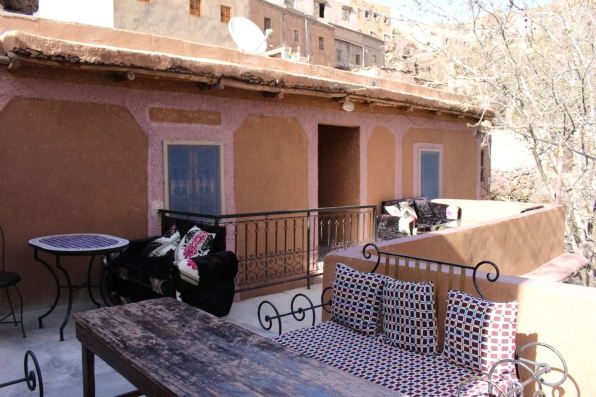 balcony at Auberge Ifrane a Imlil Marrakech
