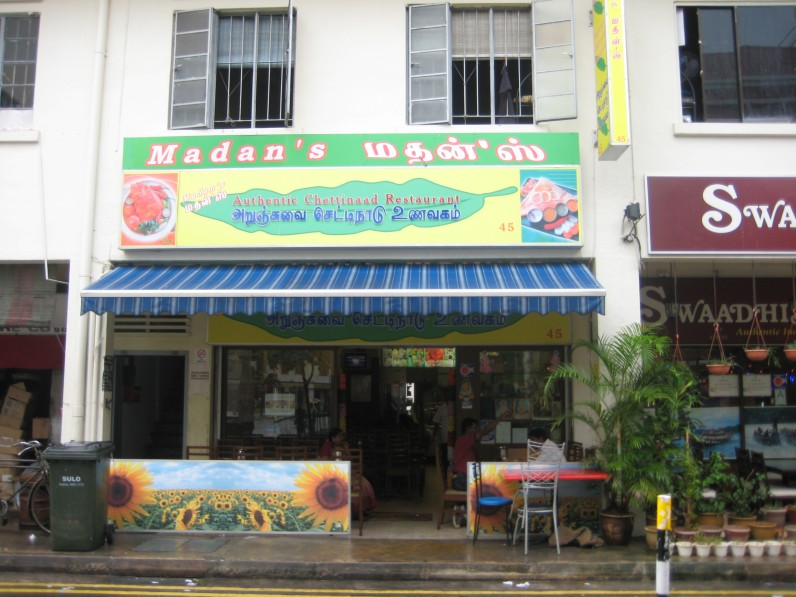 Madan's in Little India