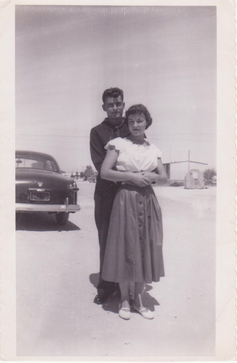 Dad and Mom - early days