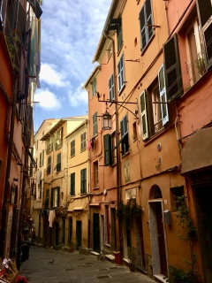 narrow lanes in Portovenere
