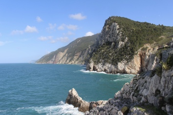 coastline of Cinque Terre