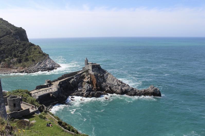 view from Castle Doria