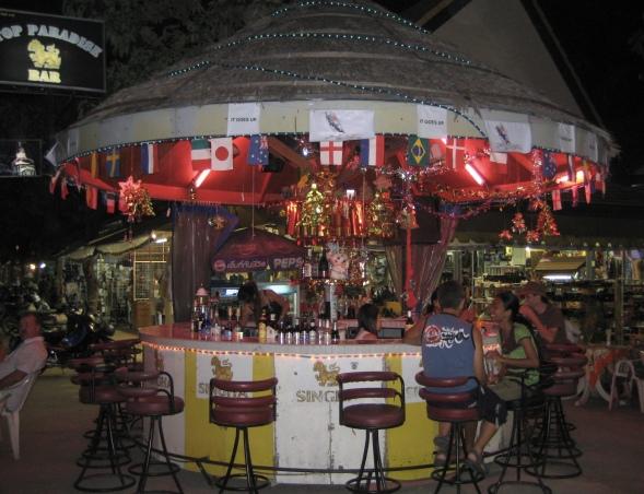 a funky bar