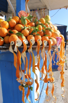 orange curls in Essaouira