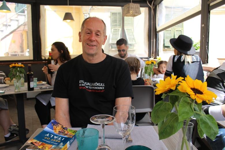 Mike at Ristorante di Aristide