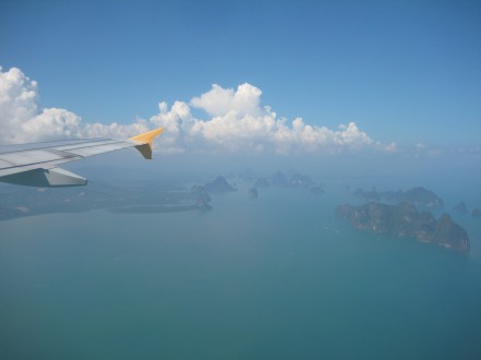 flying to Phuket