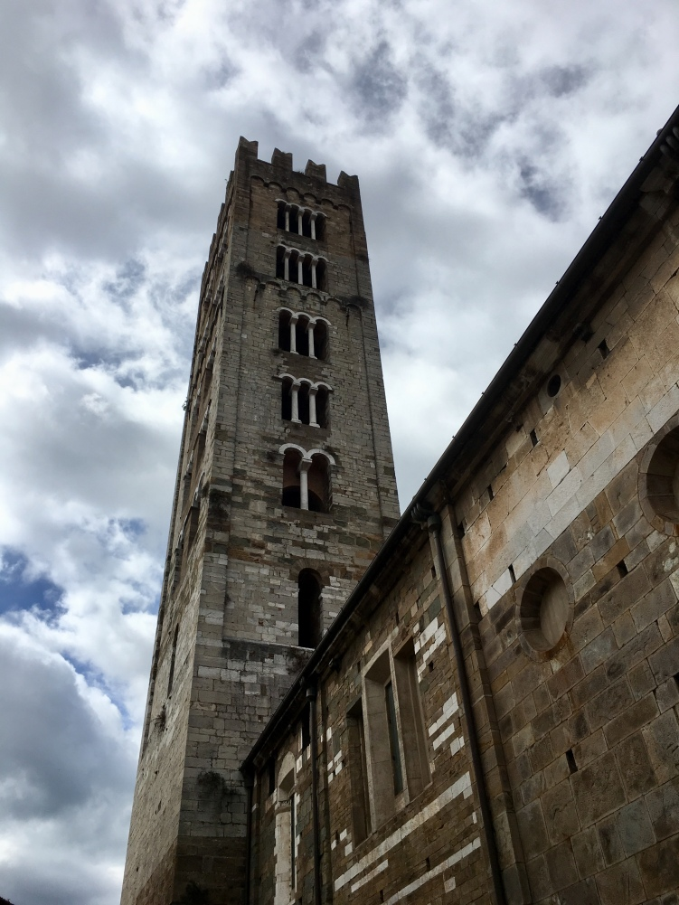 one of Lucca's towers