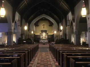 interior of Dowd Chapel