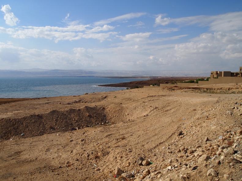 first glimpse of the Dead Sea