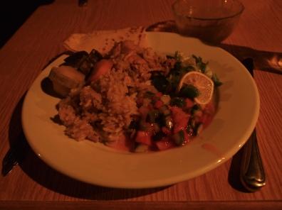 dinner at Seven Wonders Bedouin Camp