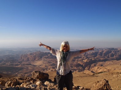 me at Petra overlook