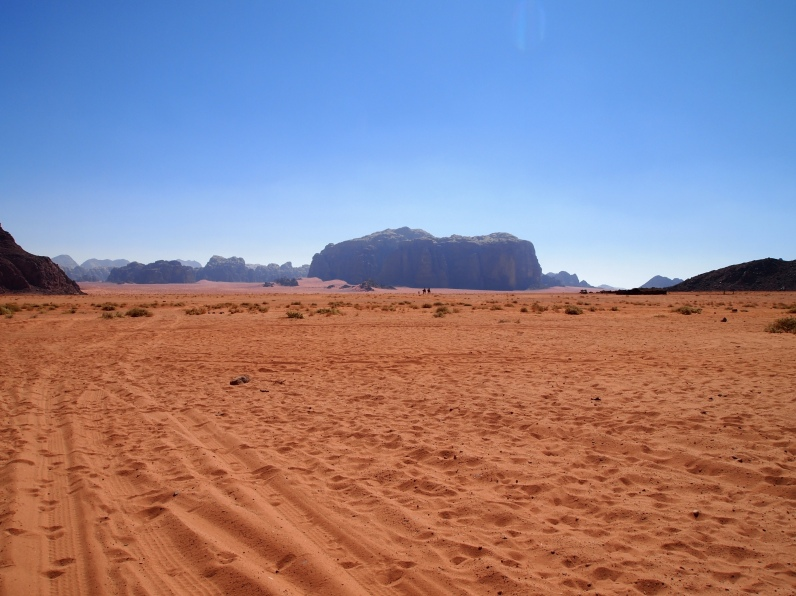 Wadi Rum from Lawrence's Spring