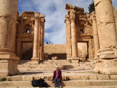 me at the Temple of Artemis