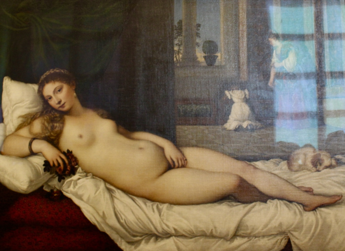 Venus of Urbino - Titian, 1538