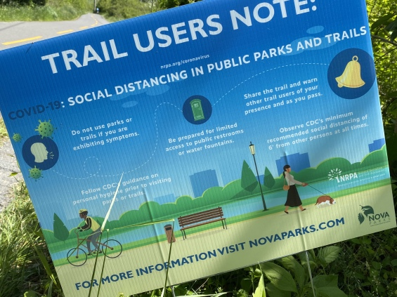 Trail Users Note