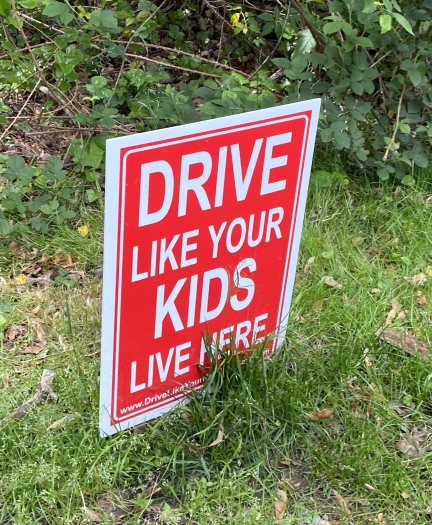 Drive Like Your Kids Live Here