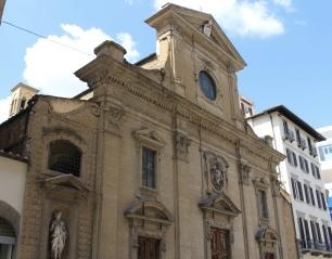 church in Piazza della Signoria
