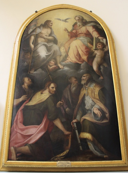 paintings at Accademia