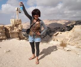 Minako at Karak