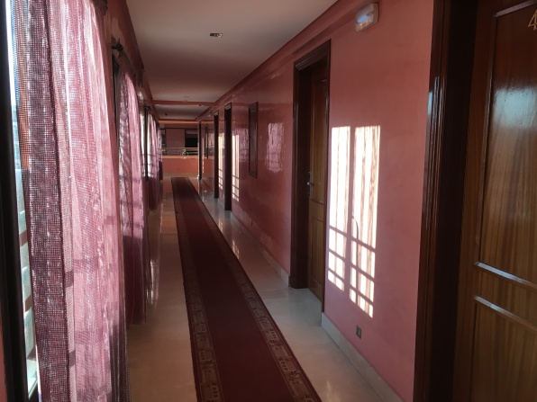 hallway at Hotel Gomassine