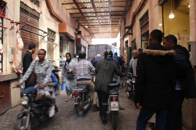 motorcycles in the souq