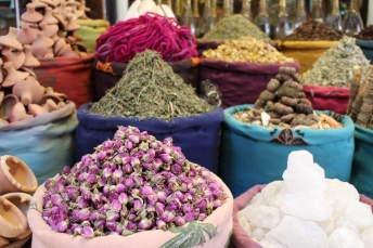 spices and petals