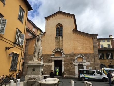 a church in Lucca