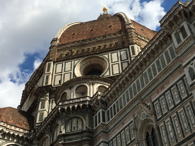 the Duomo's famous dome