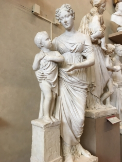 casts for sculptures at Accademia