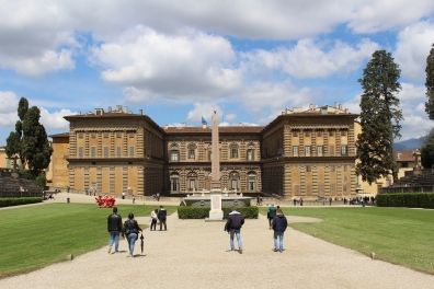 Piti Palace from Boboli Gardens