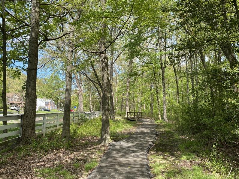 Franklin Farm path