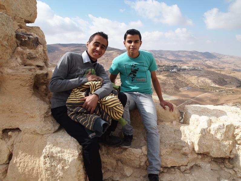 boys at Karak
