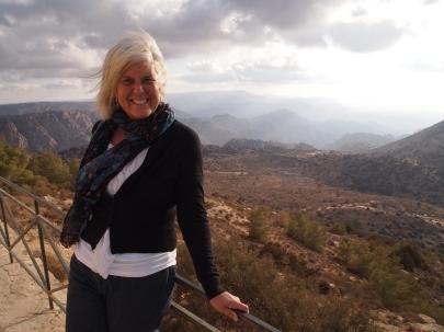 me at Dana Nature Reserve