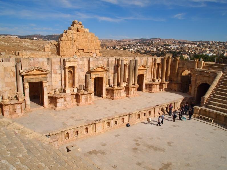 theater at Jerash