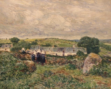 Port Manec, Brittany, 1897, by Childe Hassam