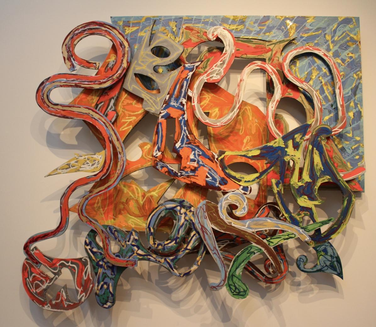 Nogaro, 1982, by Frank Stella