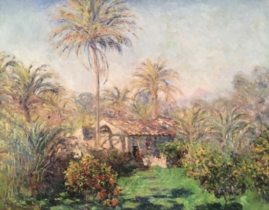 Small Country Farm at Bordighera, 1884, by Claude Monet