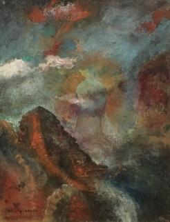 Fantasia, ~1910, by Odilon Redon
