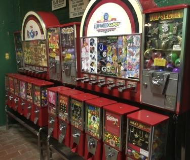 gumball machines