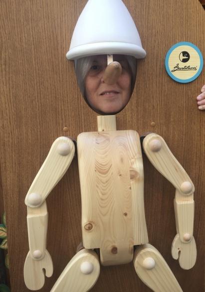 me as Pinocchio :-)