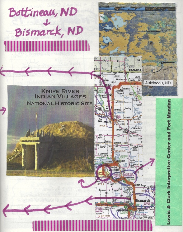 Thursday, September 12: Bottineau to Bismarck, North Dakota