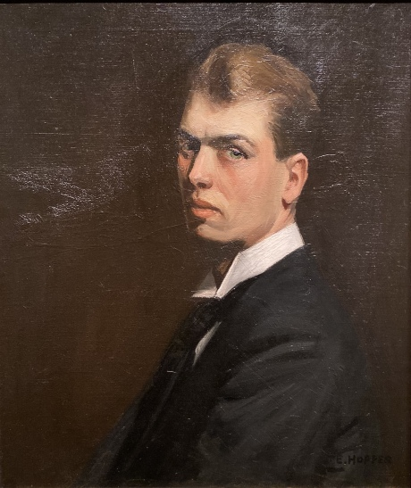 Self-Portrait, 1903-6, by Edward Hopper