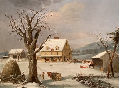 The Country Inn, ca. 1851, by George Henry Durrie