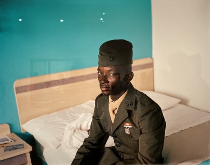 Marine, Hotel near Airport, Richmond, Virginia, 2009, by Susan Worsham
